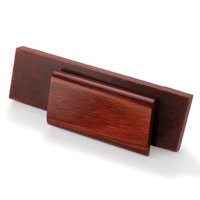 "DymaLux Knife Scale, Rosewood, 3/8"" x 1-1/2"" x 5"" (2-Piece)"