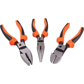 Tools 3pc High Leverage Pliers Set