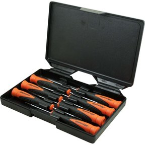 Tools 7pc Precision Screwdriver Set, Slotted and Phillips