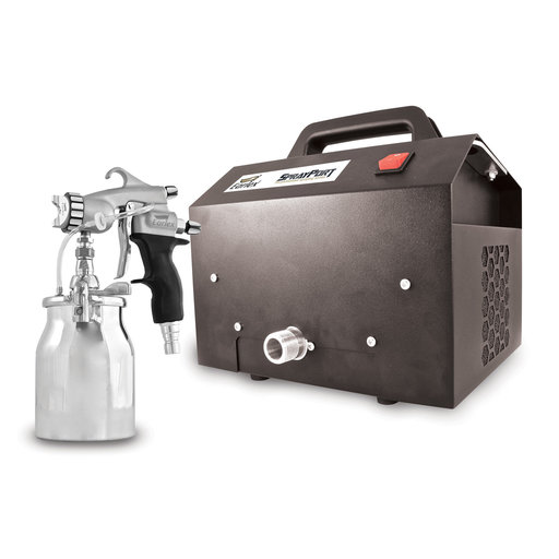 View a Larger Image of SprayPort 6003 with Pressure Feed Pro 8 Spray Gun, 6003-P