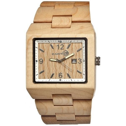 View a Larger Image of Earth Ew1201 Rhizomes Watch, Khaki/Tan