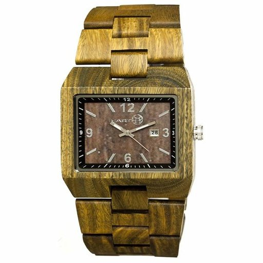 View a Larger Image of Earth Ew1204 Rhizomes Watch, Olive