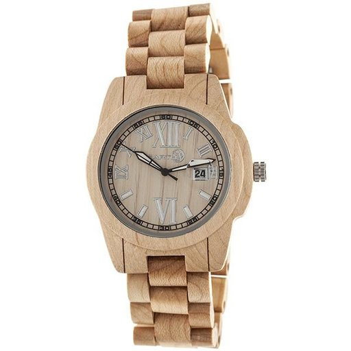 View a Larger Image of Earth Ew1501 Heartwood Watch, Khaki/Tan