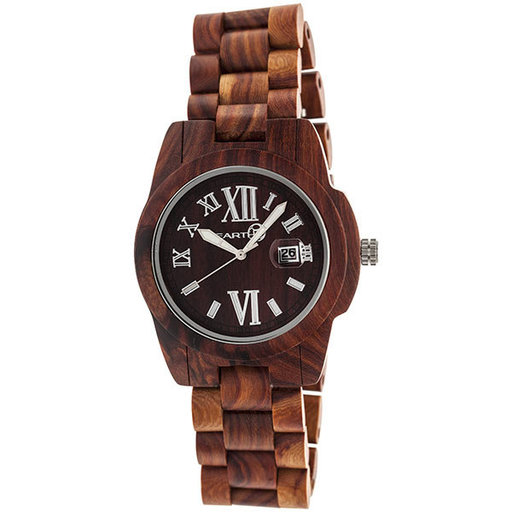 View a Larger Image of Earth Ew1503 Heartwood Watch, Red