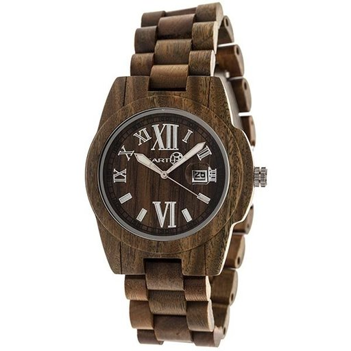View a Larger Image of Earth Ew1504 Heartwood Watch, Olive