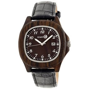 Earth Ew2702 Sherwood Watch, Dark Brown