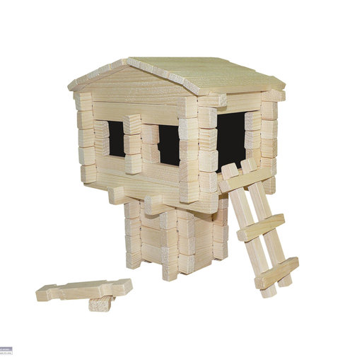 View a Larger Image of Earth Friendly Tree House 79pc Set