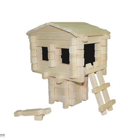 Earth Friendly Tree House 79pc Set
