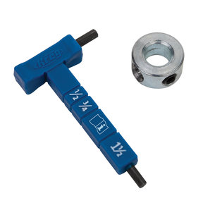 Easy-Set Stop Collar and Gauge Hex Wrench