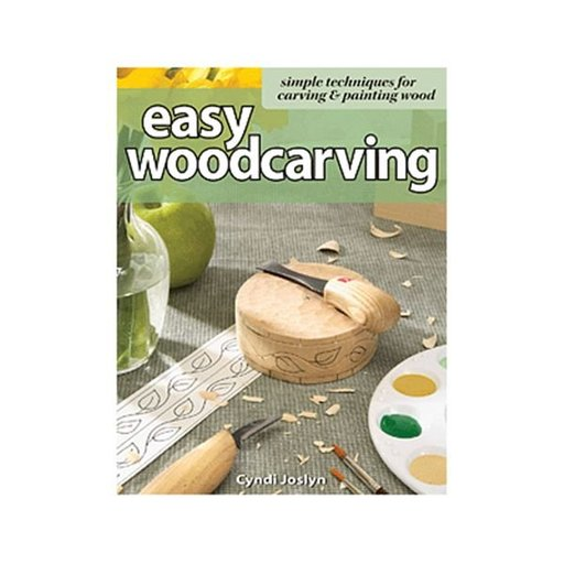 View a Larger Image of Easy Woodcarving: Simple Techniques for Carving & Painting Wood