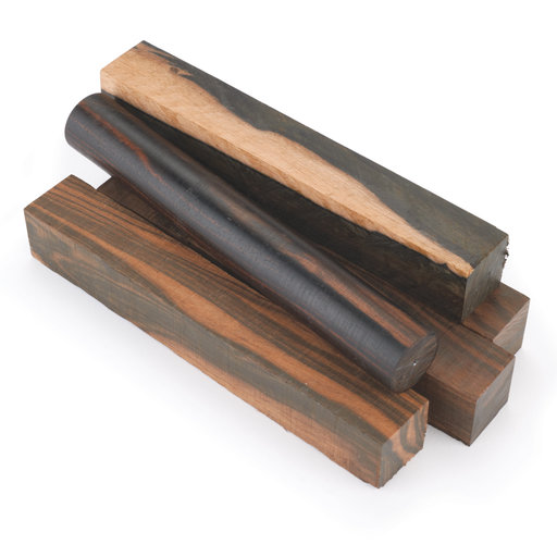 """View a Larger Image of Ebony, Macassar 3/4"""" x 3"""" x 24"""""""