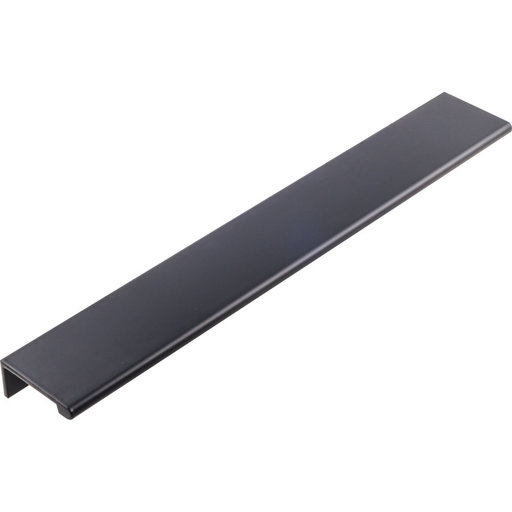 View a Larger Image of Edgefield Tab Pull, 114 mm C/C, Matt Black/Black