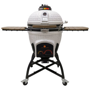 Elite Series XR402 Deluxe Ceramic Kamado, White