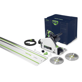 "Emerald Edition TS 55 REQ-F-Plus Plunge Cut Saw with 55"" Rail"