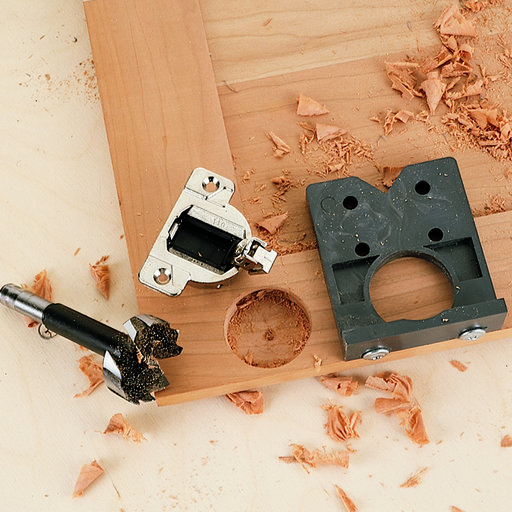 View a Larger Image of Euro EASY-DRILL Concealed Hinge Boring Jig
