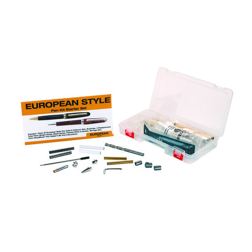 View a Larger Image of European Pen Kit Starter Set