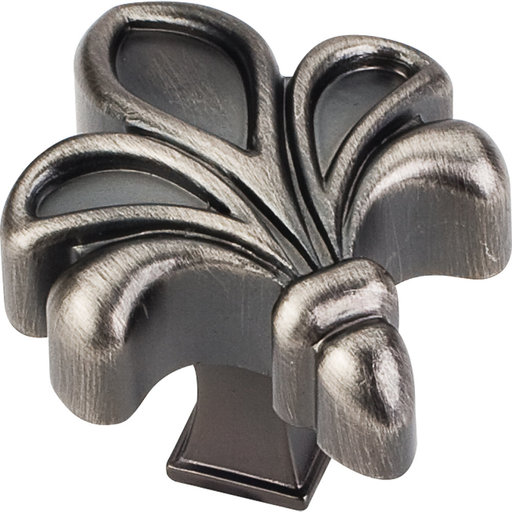 "View a Larger Image of Evangeline Knob, 1-3/4"" O.L.,,, Brushed Pewter"