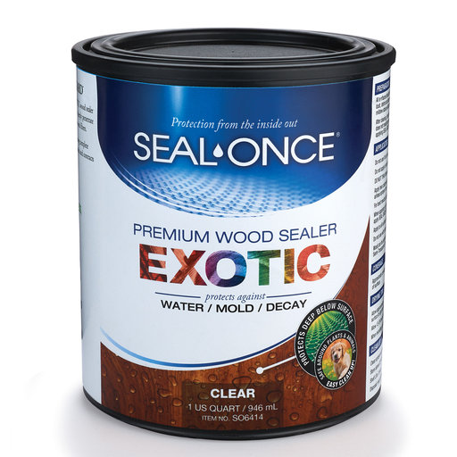 View a Larger Image of Exotic Wood Sealer Qt