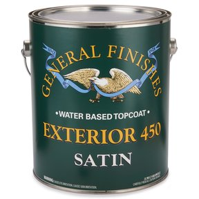 Satin Exterior 450 Varnish Water Based Gallon