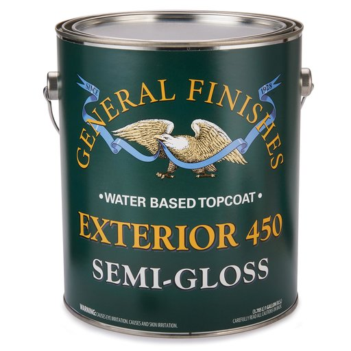 View a Larger Image of Semi-Gloss Exterior 450 Varnish Water Based  Gallon