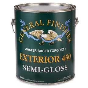 Semi-Gloss Exterior 450 Varnish Water Based  Gallon