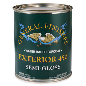 Semi-Gloss Exterior 450 Varnish Water Based Quart