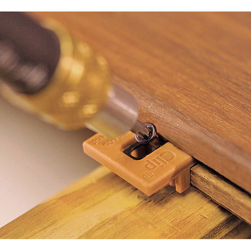 View a Larger Image of Extreme4 Ipe Clip Hidden Deck Fastener Kit, (175 Pack), Brown