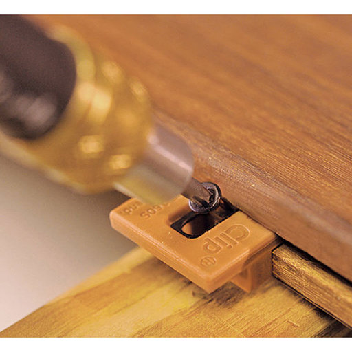 View a Larger Image of ExtremeKD Ipe Clip Hidden Deck Fastener Kit, (1050 pcs), Brown