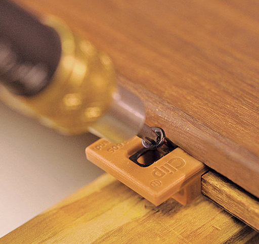 View a Larger Image of ExtremeKD Ipe Clip Hidden Deck Fastener Kit, (175 pack), Brown