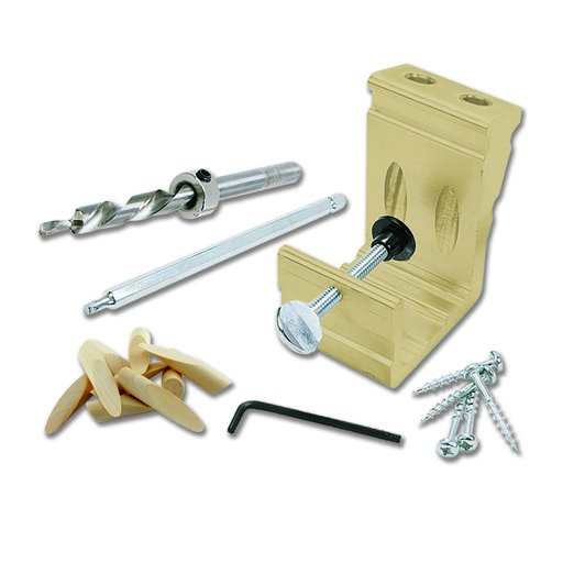 View a Larger Image of EZ Pro Deluxe Pocket Hole Kit, General Tools Model# 850