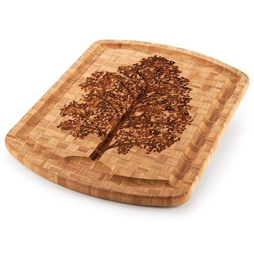 View a Larger Image of Family Tree Carver Cutting Board 19.5in x 15.75in x 1in