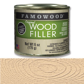 Birch Wood Filler Solvent Based 6 oz