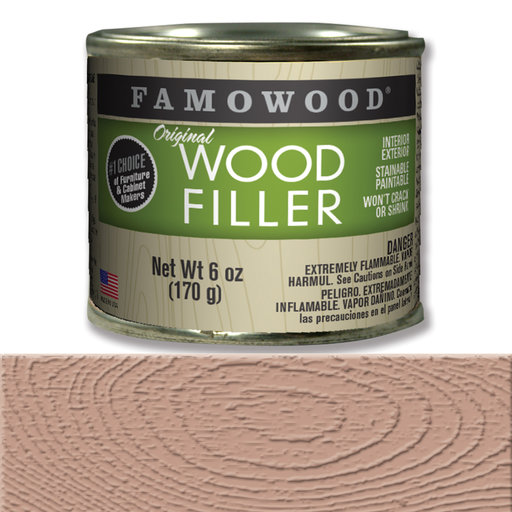 View a Larger Image of Mahogany Wood Filler Solvent Based 6 oz