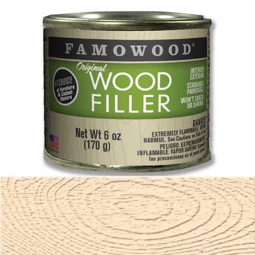 View a Larger Image of Maple Wood Filler Solvent Based 6 oz