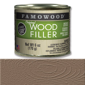 Walnut Wood Filler Solvent Based 6 oz