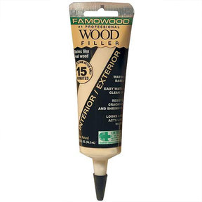 Wood Filler, Natural, 3.25-oz