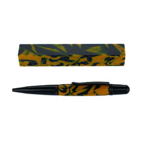 Fan Favorite Acrylic Pen Blank Blue & Gold