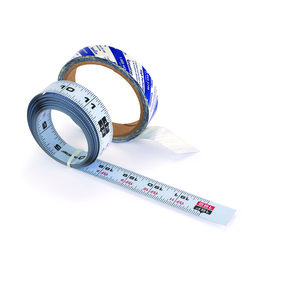 Self-Adhesive 16' Measuring Tape Reversible Left or Right Read, Standard