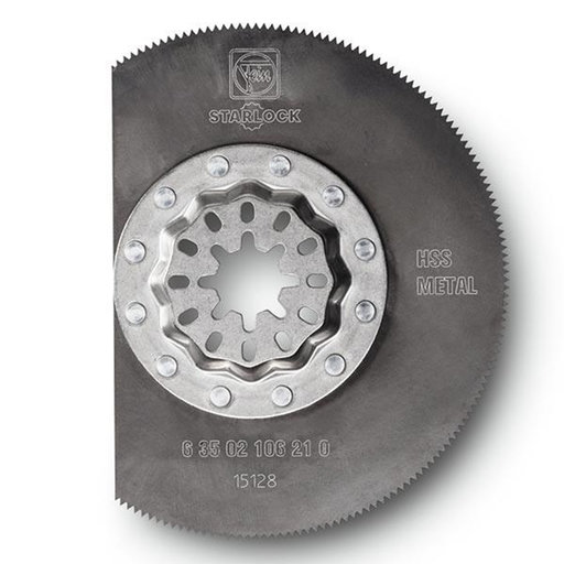 View a Larger Image of STARLOCK HSS Segment Saw Blade- 3-3/8""