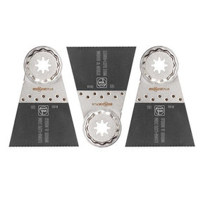"STARLOCK PLUS E-Cut LongLife Saw Blade-2-9/16""-3 pack"