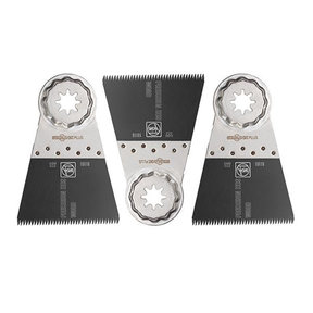 "STARLOCK PLUS E-Cut Precision Saw Blade - 2-9/16"", 3 pack"