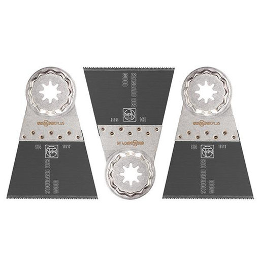 "View a Larger Image of STARLOCK PLUS E-Cut Standard Saw Blade - 1-3/8""- 3 pack"