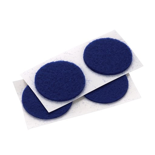 "View a Larger Image of Felt Dot, Self-Adhesive, Blue 1"" dia. 18-piece"
