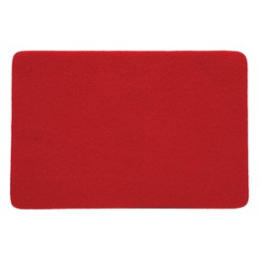 "Felt 12"" x 24"" Self-adhesive Red Sheet"