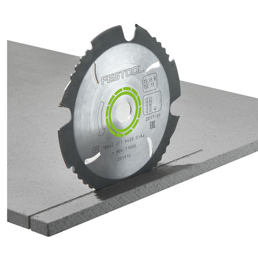 View a Larger Image of 160x2.2x20 Diamond Saw Blade for TS-55 R and TSC 55 saws