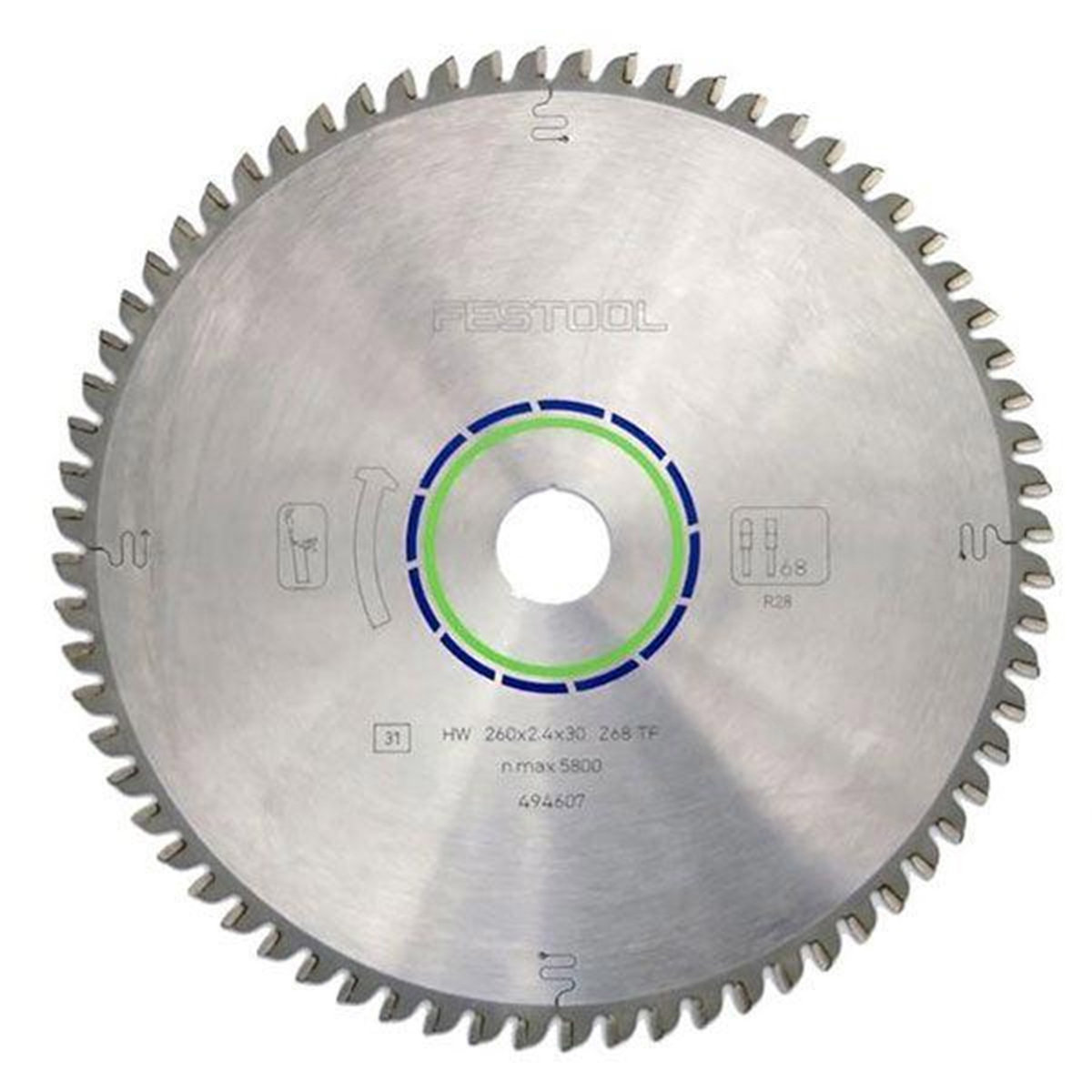View A Larger Image Of Festool 10 Laminate Blade For Kapex Miter Saw 64