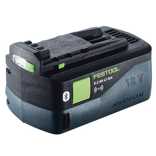 View a Larger Image of Festool Bluetooth 5.2Ah Lithium-Ion Battery Pack for 18V cordless tools