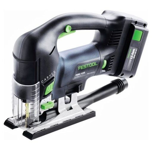 View a Larger Image of Carvex PSBC 420 EB 18V, 5.2 Ah Cordless Jigsaw