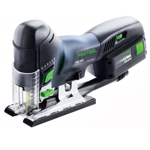 View a Larger Image of Carvex PSC 420 EB 18V, 5.2 Ah Cordless Jigsaw
