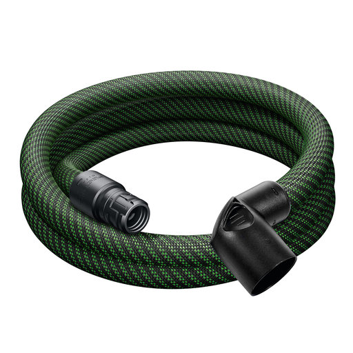 View a Larger Image of Festool D27/32 x 3m Hose with Angle Adapter for CT MINI/MIDI Vacuums